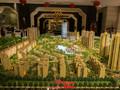 泰丰国际城沙盘图