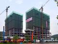 泰丰国贸中心项目现场