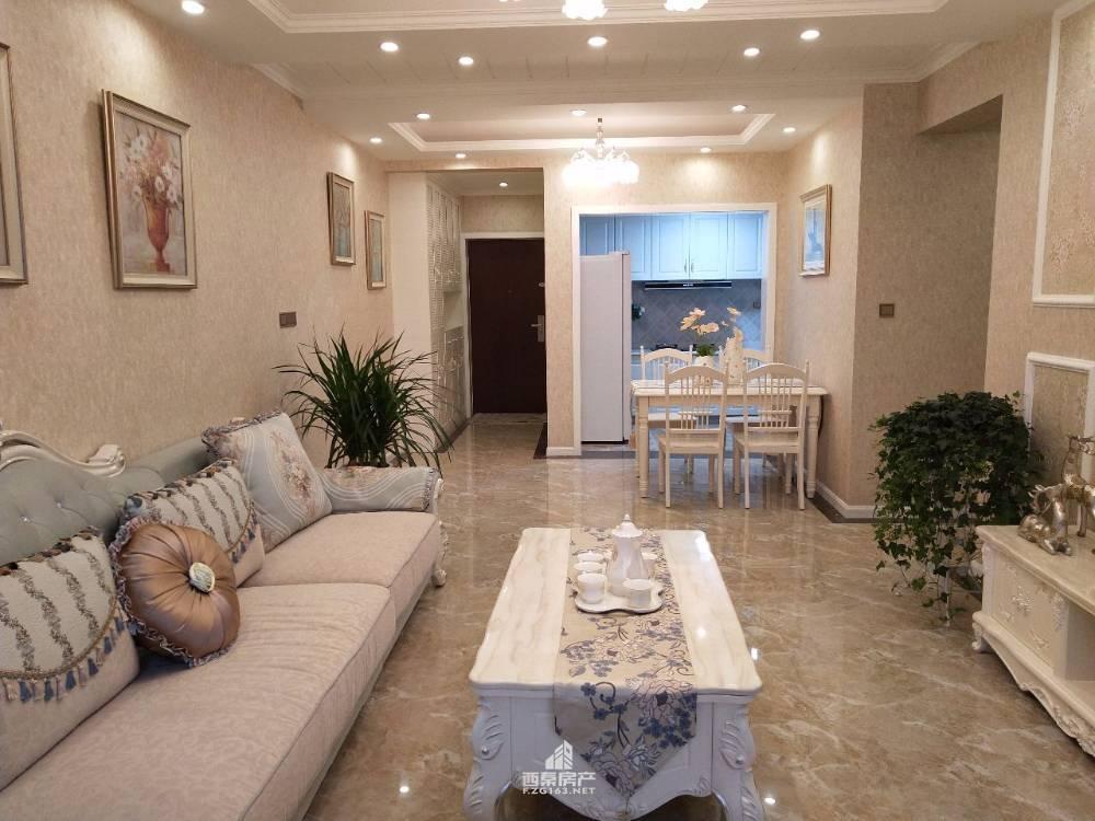 出售君豪御园3室2厅1卫86平米81万住宅