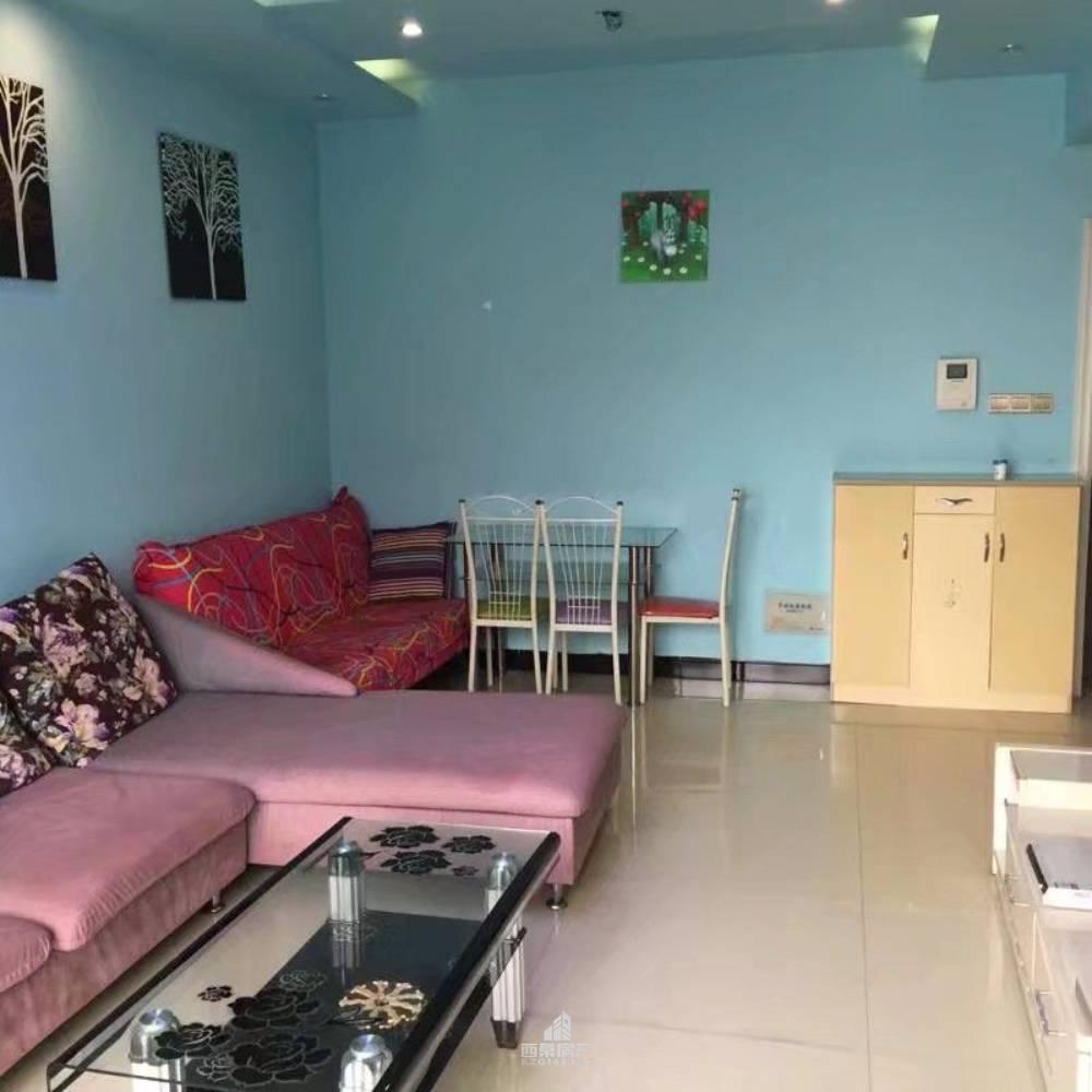 出租水岸豪庭1室1厅1卫55平米1300元/月住宅