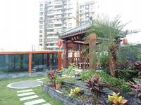 紫荆城邦一梯一户10跃11跃12楼 超安逸100多平花园
