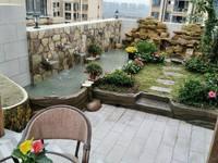 南湖学区房邻紫荆城邦南湖汇东学校南湖公园精装4室顶跃带花园鱼池