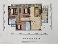 出售西城壹号3室2厅2卫87.14平米46万住宅
