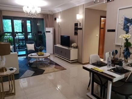 玖州大院-86.4平米,3室2厅2卫,使用率高,户型看中庭