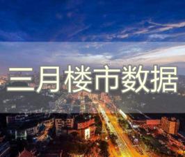 2020年3月自贡楼市数据报告
