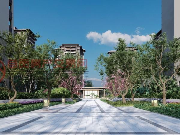 阳光大地集团的公园学府智慧科技住宅自贡市第一家