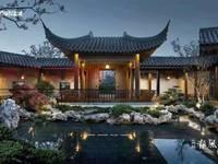 蓝城 春风桃源中式合院别墅,花园面积70至200平米不等