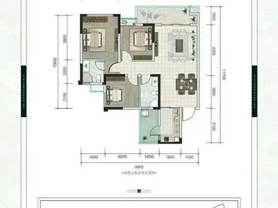 46万买龙湖新楼盘3室!龙湖学校学区房!双公园、10多栋品质大盘园