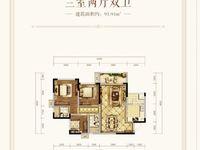 出租邦泰 天著3室2厅2卫92平米1000元/月住宅