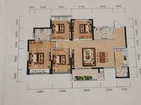 出售鸿山 金域翡翠4室2厅2卫111.81平米88万住宅
