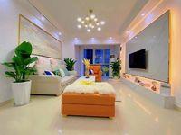 小高层客厅正对中庭,精装房家具家电齐全,拎包入住