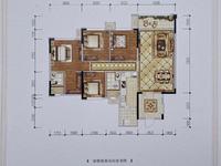 出售邦泰 天著4室2厅2卫121.86平米90万住宅