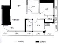 南湖领御三期3室2厅2卫1厨出租